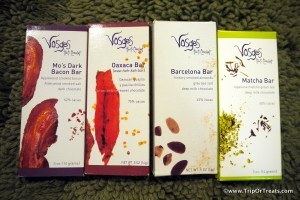 Vosges chocolate, Newton Whole Foods chocolate tasting