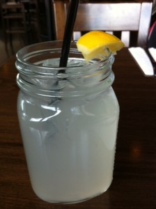Brewer's Coalition, Newton pub, Newton gastropub, Newton restaurant, new restaurant Newton, lemonade in cute jar cups