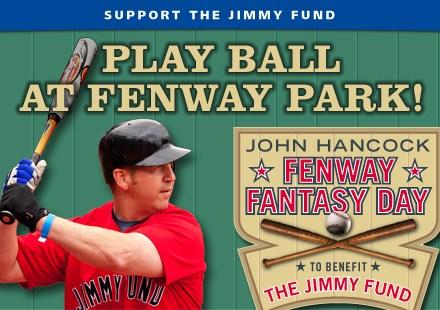 Jimmy Fund Fenway Park fundraiser