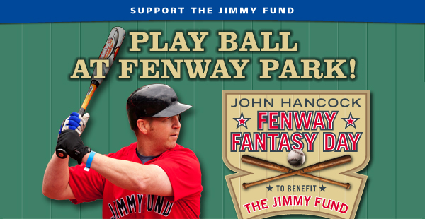 Jimmy Fund Fenway Park fundraiser