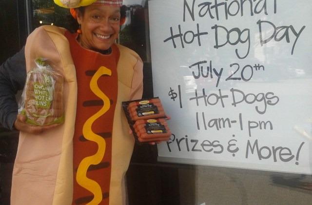 Hot Dog Throwdown Whole Foods Newton, National Hot Dog Day