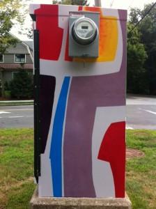 street art, BoxART, BoxArt Newton, Commonwealth Avenue boxart
