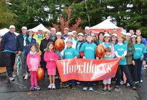 Hope Walks at the Newton Wellesley Hospital