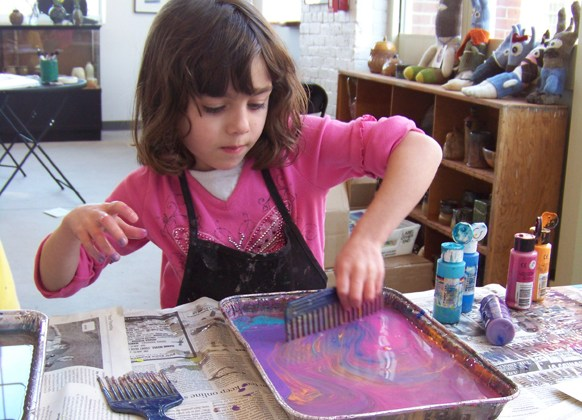 Arsenal Center Offers December Vacation Art Workshops for Children
