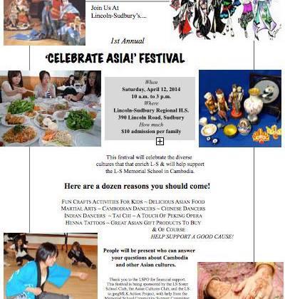Celebrate Asia! Festival