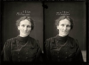 female criminals from 1920 mugshots