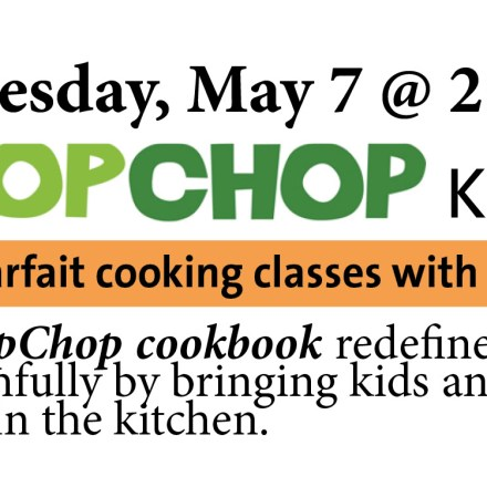 cooking class book event for kids Wellesley book store