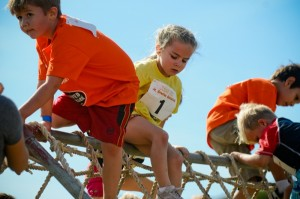 Reebok Obstacle Climbing Race for Kids