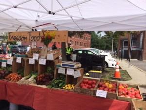 Elm Street Farmer's Market West Newton