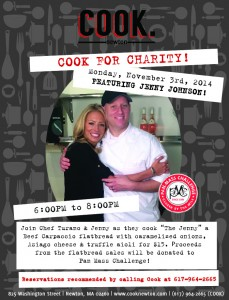 Anyone Can Cook Cooking Class!