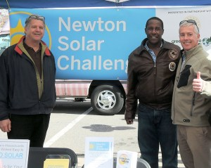 Newton Solar Challenge supports Mayor Setti Warren's energy efficiency goals to reduce consumption 20% by 2020 ​