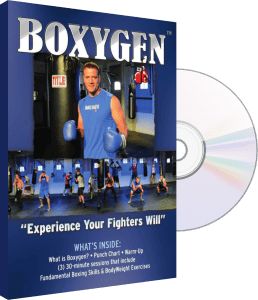 Try BOXYGEN Workout in Your Home!