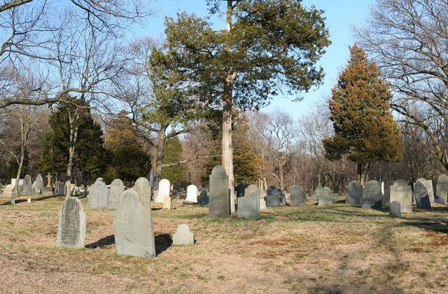 Restoration of Newton's Oldest Burying Ground