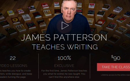 James Patterson Teaches Writing to Kids