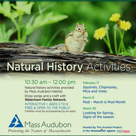 The Watertown Family Network's Natural History Activities