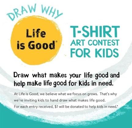 Nationwide T-Shirt Art Contest for Kids