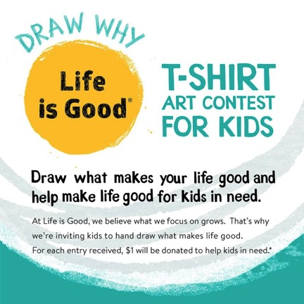 Nationwide T-Shirt Art Contest for Kids