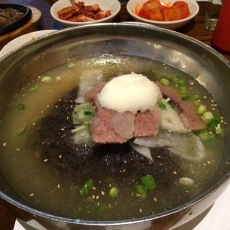 Restaurant Find for Cold Korean Noodle Soup