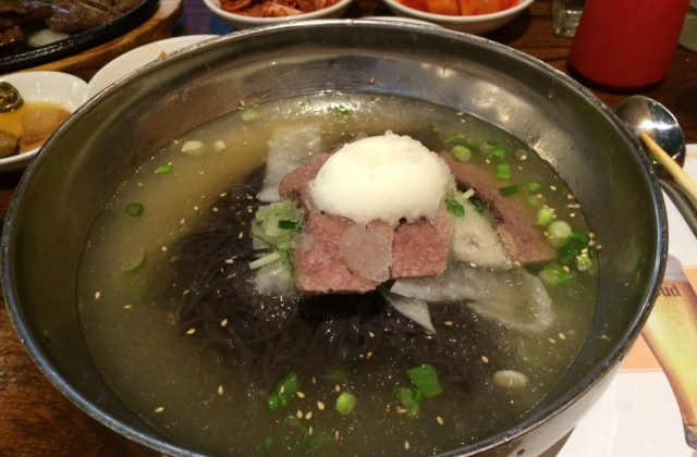 Restaurant Find for Cold Korean Noodle Soup