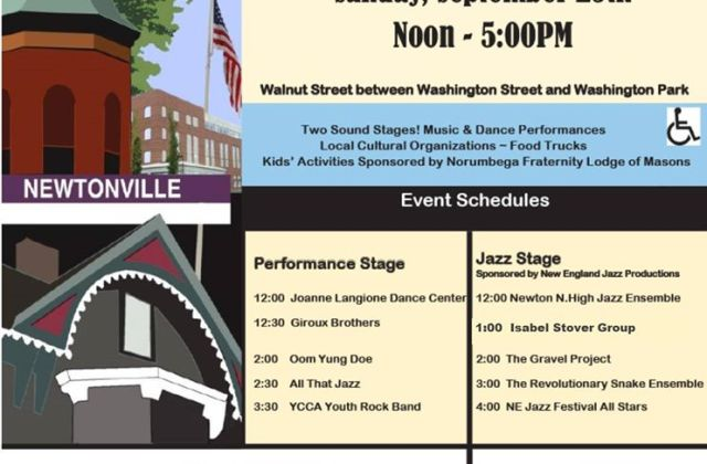 Newtonville Village Day and Jazz Festival