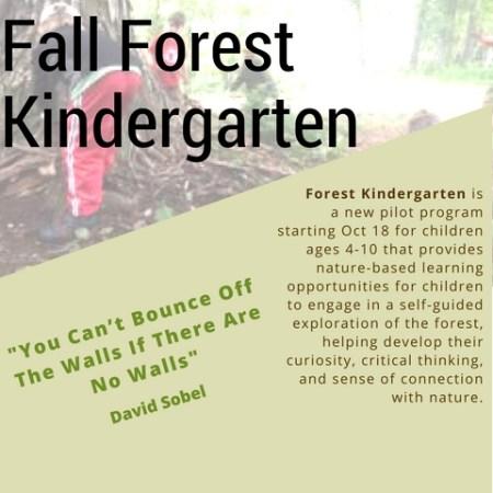Friends of the Fells Forest Kindergarten program