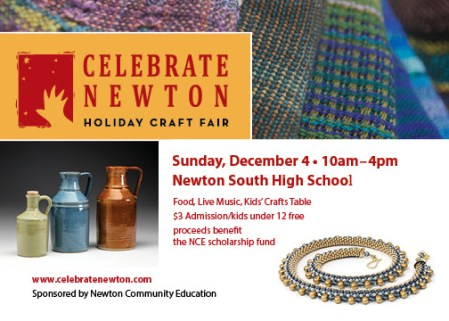 Celebrate Newton Holiday Craft Fair at NSHS