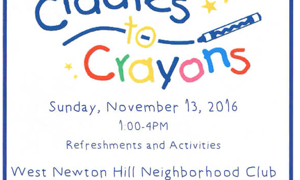 Cradles to Crayon Donation Drop Off