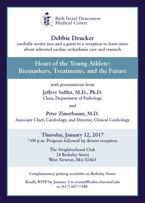 Heart of the Young Athlete hosted by Debbie Drucker