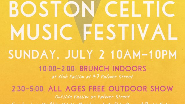 Summer BCMFest Celtic Festival in Harvard Square, July 2