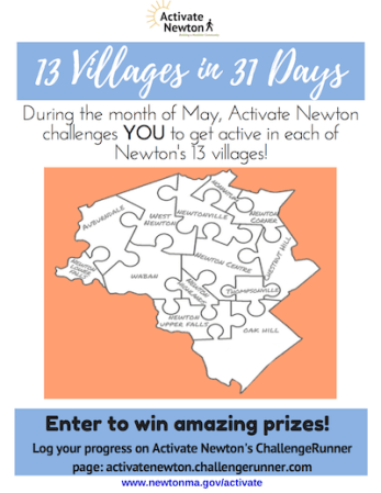 Activate Newton invites residents to walk Newton's 13 villages