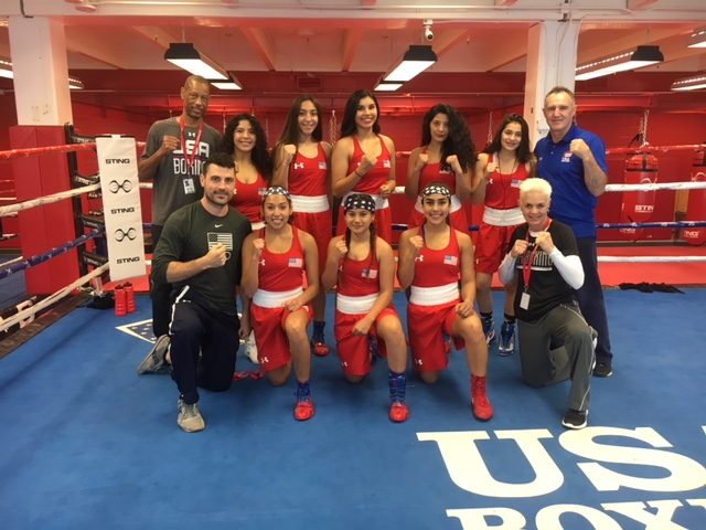 U.S. Elite Girls Boxing Team Ages 17 and 18