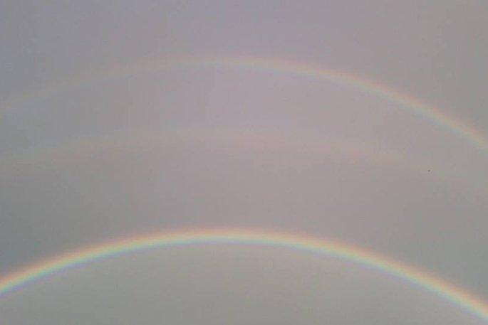 tripple rainbow