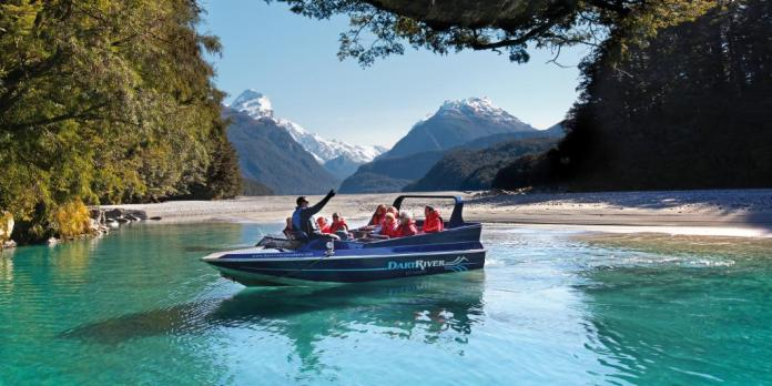 Jet Boat on Dart River Glenorchy