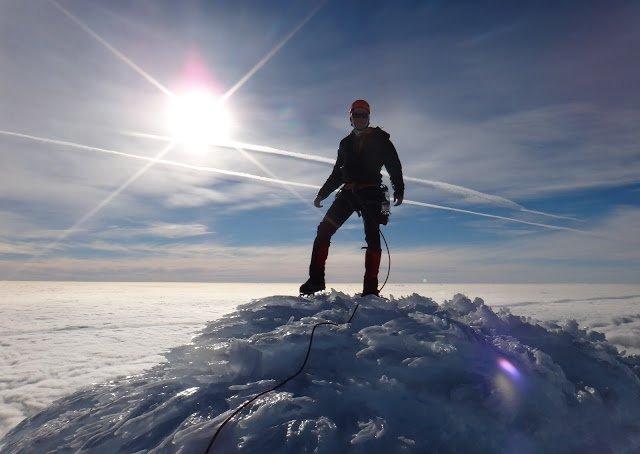 Mt Taranaki Summit