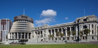 beehive wellington nz