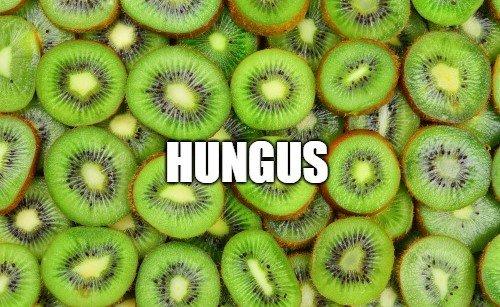 hungus kiwi slang