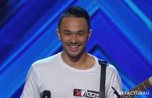 Cyrus Villanueva on X Factor Australia 2015