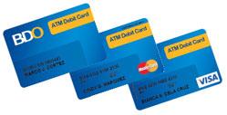How to get Banco De Oro BDO ATM Debit Card