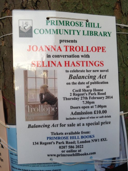 THURSDAY 27 FEB, JOANNA TROLLOPE IN CONVERSATION