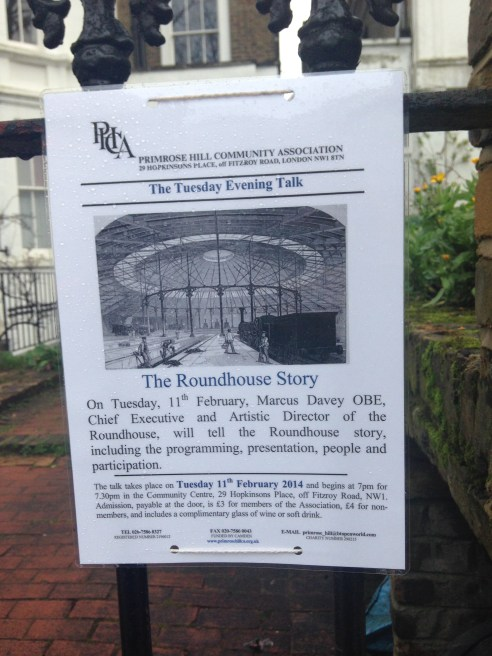 11 FEB, THE ROUNDHOUSE STORY, PHCA