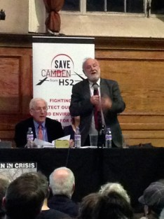 Frank Dobson with Martin Sheppard
