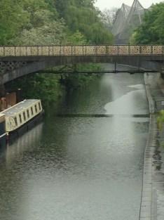 RAIN ON THE CANAL