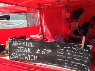 ARGENTINE STEAK SANDWICH