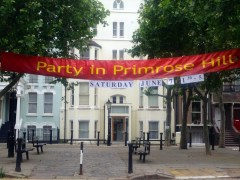 PARTY IN PRIMROSE HILL