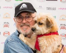 STAUNCH PUPAID SUPPORTER, ACTOR PETER EGAN photo Julia Claxton.