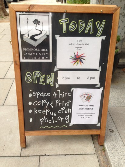 THERE'S ALWAYS A PACKED SCHEDULE AT THE PRIMROSE HILL COMMUNITY LIBRARY