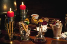 ...AND WARMING CANAPES