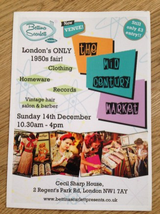 SUNDAY 14 DECEMBER 12-4PM, CECIL SHARP HOUSE.
