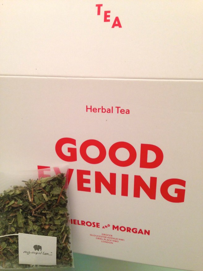 LEMON VERBENA AND MINT. TIME FOR BED.