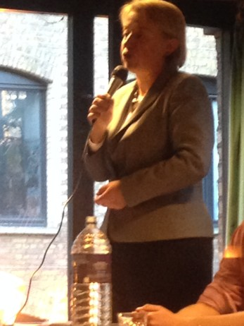 GREEN PARTY LEADER NATALIE BENNETT FIGHTING FOR OUR VOTES